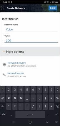 Create a VLAN